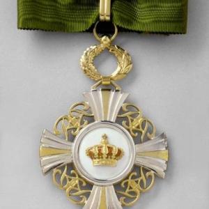 Cravate Commandeur Ordre de la Couronne