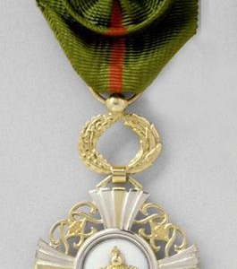 Avers Insigne Officier Ordre de la Couronne