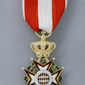 Revers insigne Chevalier Ordre Saint Charles