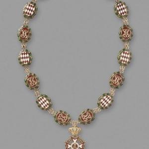 Collier de Grand Maître de l'ordre  de saint Charles