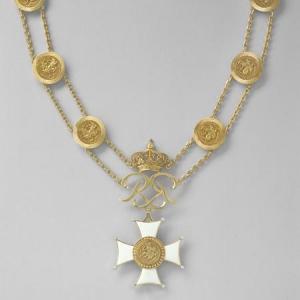 Collier Grand Maître Ordre des Grimaldi