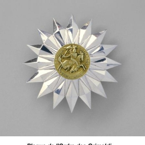 Plaque de l'Ordre des Grimaldi
