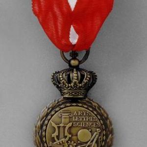 Revers Insigne Chevalier Ordre Mérite culturel