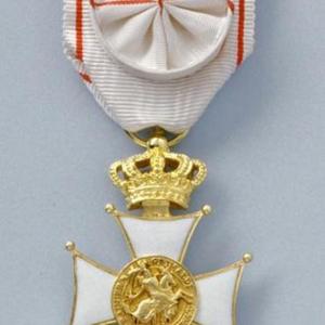 Insigne Officier de l'Ordre des Grimaldi
