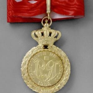 Cravate commandeur Ordre du Mérite Culturel