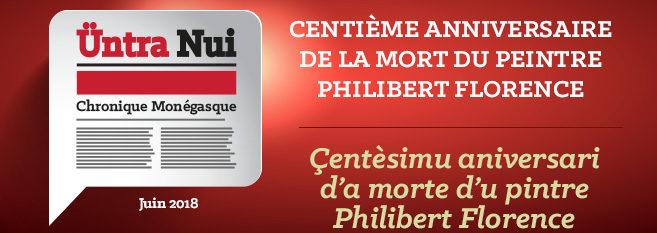 Chronique Monégasque : Philibert Florence