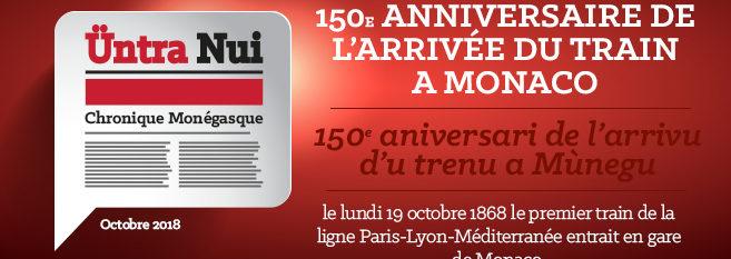 Chronique : 150ème anniversaire de l'arrivée du train à Monaco